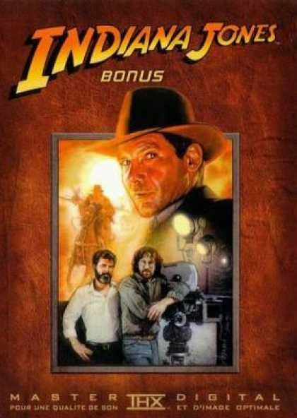 French DVDs - The Indiana Jones Trilogy Bonus