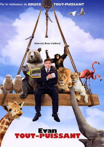 French DVDs - Evan Almighty