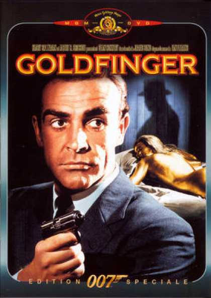 French DVDs - 007 Goldfinger