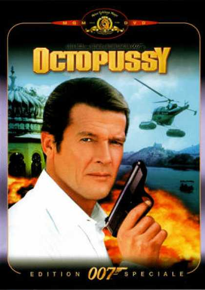 French DVDs - 007 Octopussy