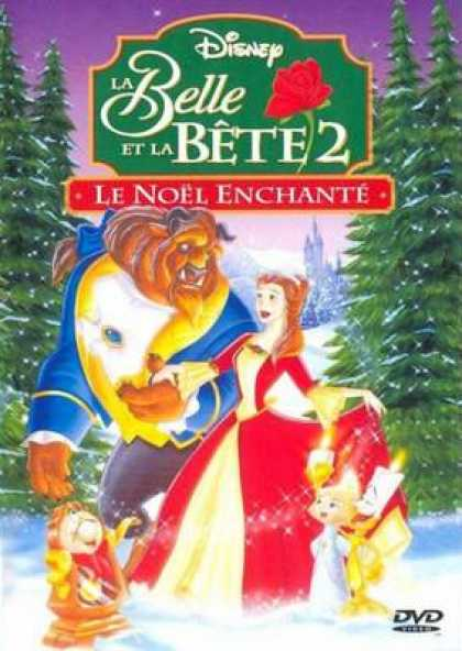 French DVDs - Beauty And The Beast Enchanted Christmas