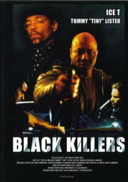 French DVDs - Black Killers