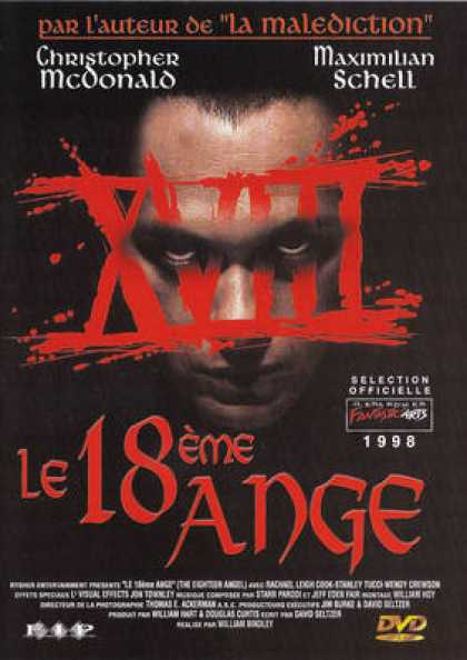 French DVDs - Le 18 Eme Ange