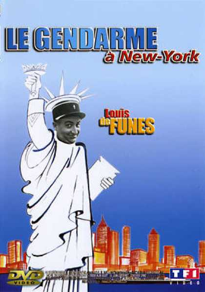 French DVDs - The Gendarme In New York