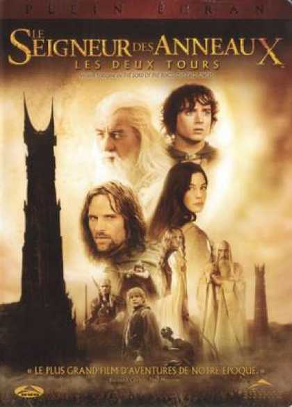 French DVDs - The Lord Of The Rings The Two Towers