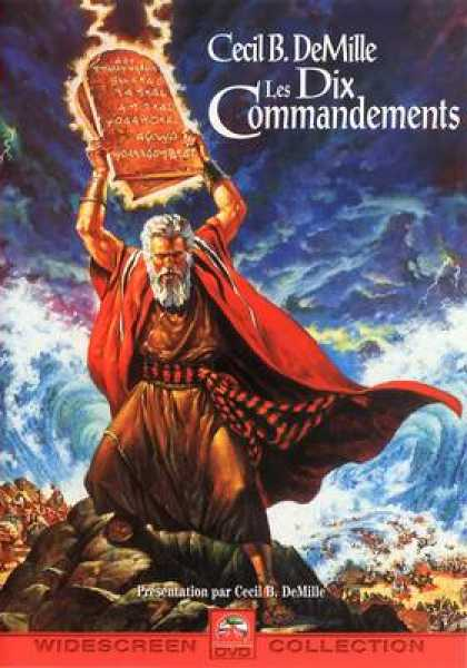 French DVDs - The Ten Commandments