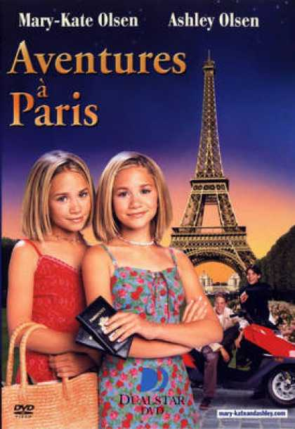 French DVDs - Aventures A Paris