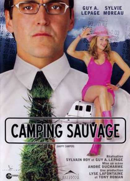 French DVDs - Camping Sauvage