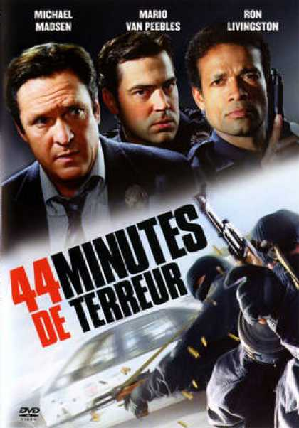 French DVDs - 44 Minutes De Terreur