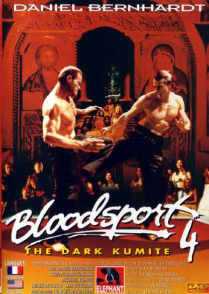 French DVDs - Bloodsport 4