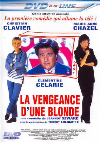 French DVDs - La Vengeance D Une Blonde