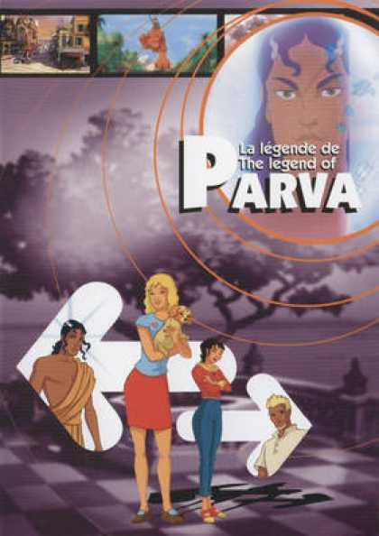 French DVDs - La Legende De Parva