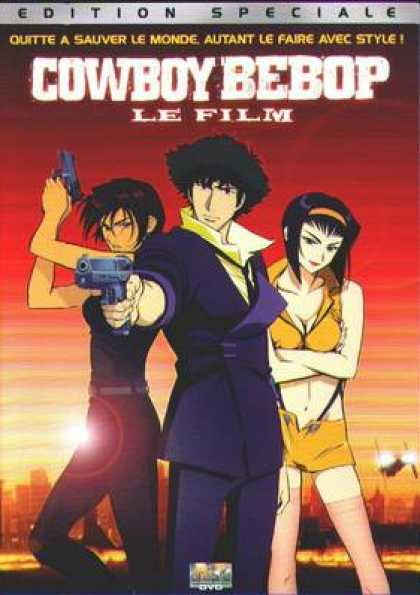 French DVDs - Cowboy Bebop The Film