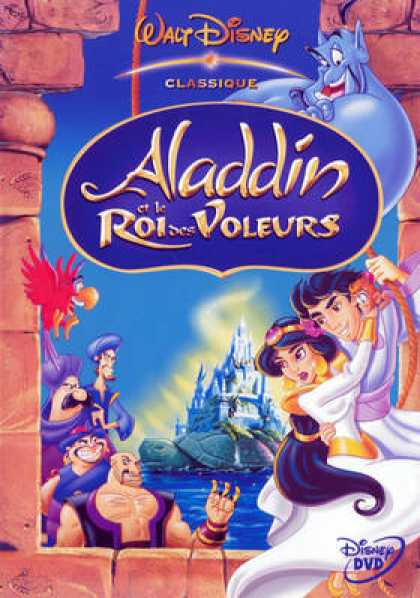French DVDs - Aladin 2