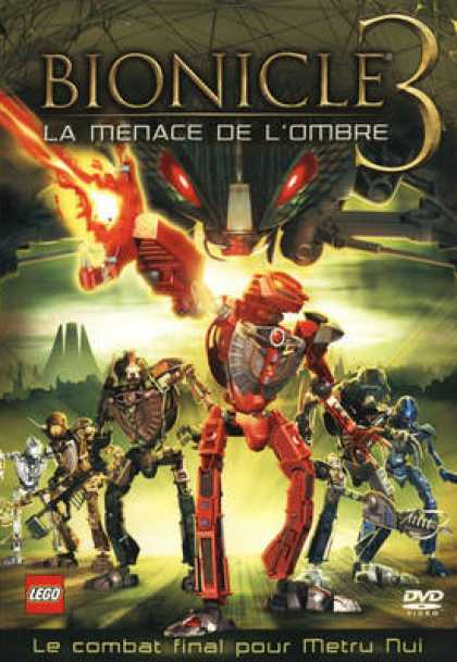 French DVDs - Bionicle 3