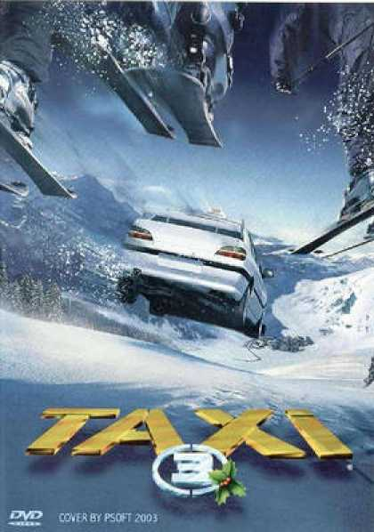 French DVDs - Taxi 3