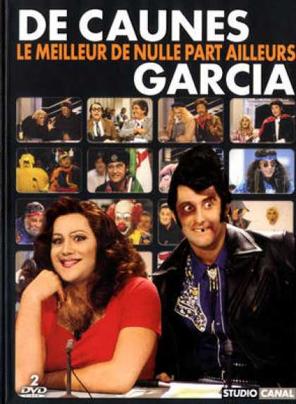 French DVDs - De Caunes Garcia