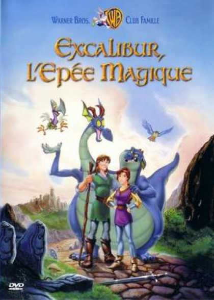 French DVDs - Excalibur The Magic Sword