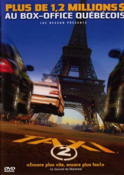 French DVDs - Taxi 2