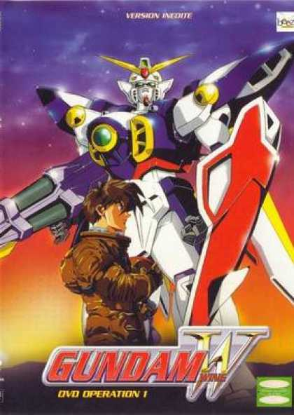 French DVDs - Gundam Wing Operation 1