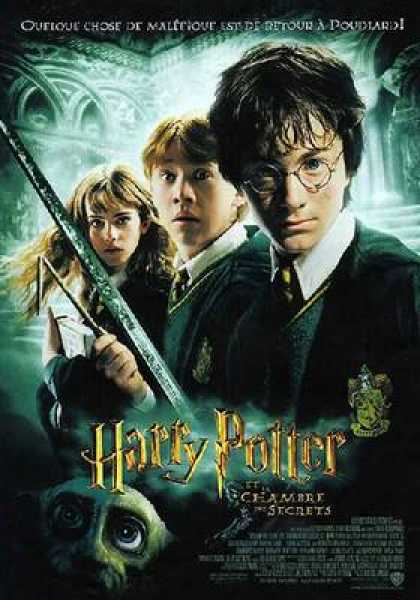 French DVDs - Harry Potter And The Chamber Of Secrets