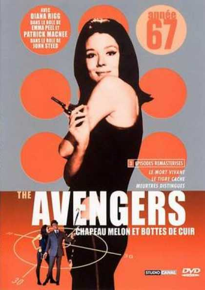 French DVDs - The Avengers 1967 Vol 3