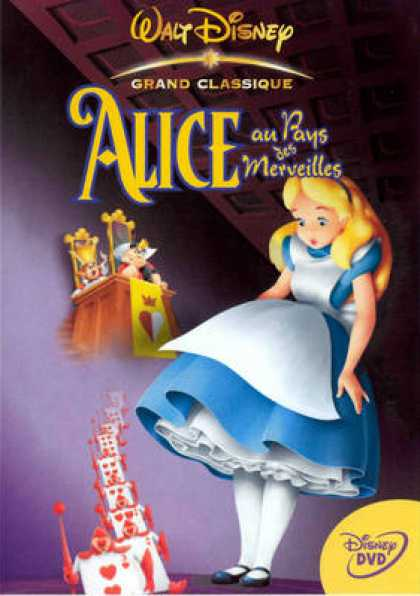 French DVDs - Alice With The Country Of The Wonders