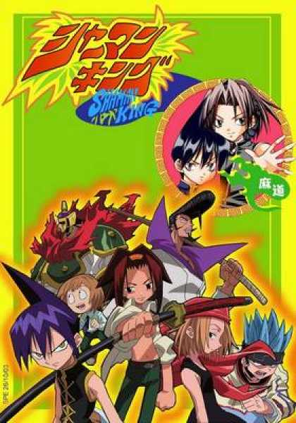 French DVDs - Shaman King