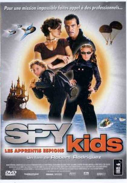 French DVDs - Spy Kids