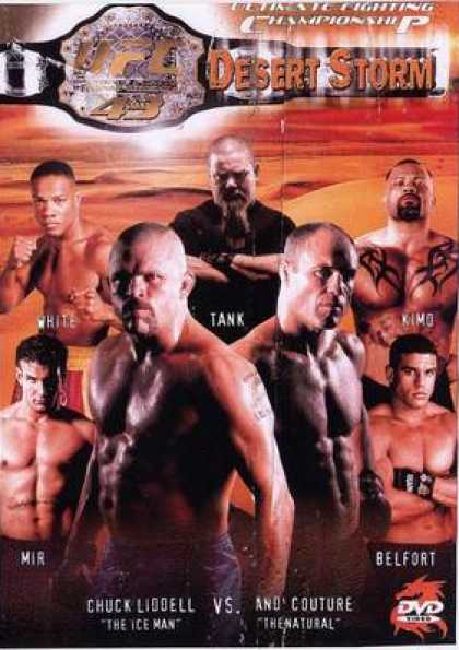 French DVDs - Ufc 43