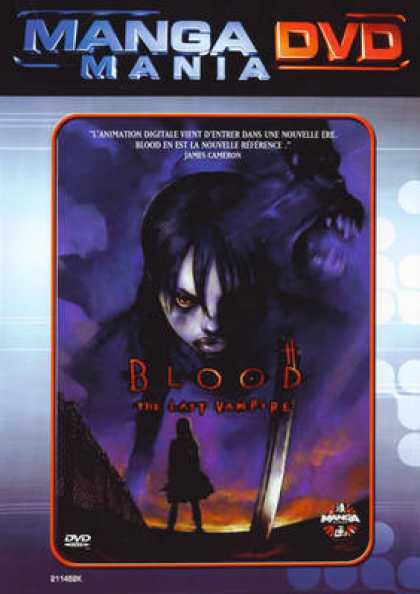 French DVDs - Blood The Last Vampire
