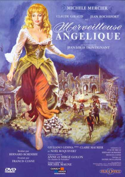 French DVDs - Merveilleuse Angelique