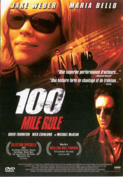 French DVDs - 100 Mile Rule