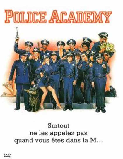 French DVDs - Police Academy 1