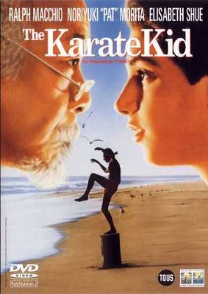 French DVDs - Karate Kid
