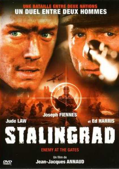 French DVDs - Stalingrad Ennemy At The Gates