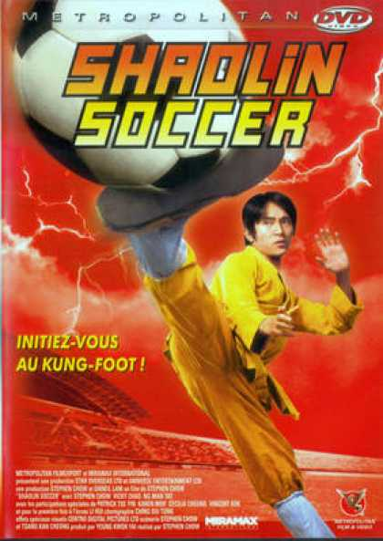 French DVDs - Shaolin Soccer
