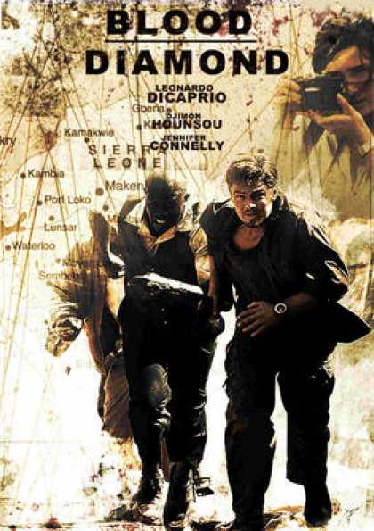 French DVDs - Blood Diamond