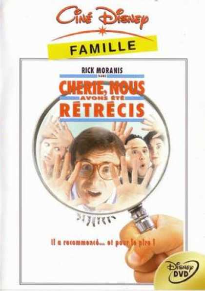 French DVDs - Honey We Shunk Ourselves