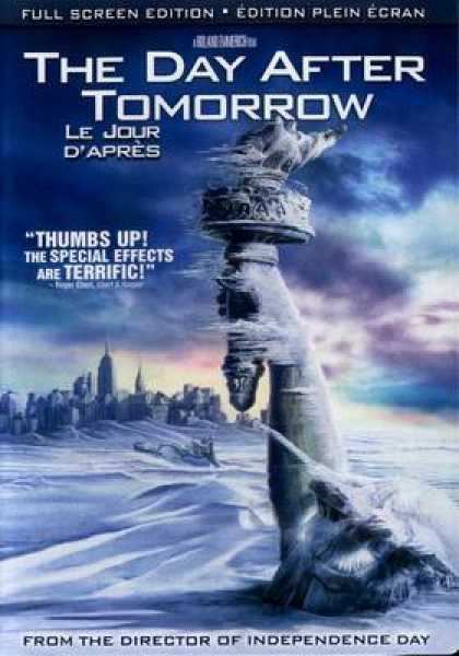 French DVDs - The Day After Tomorrow Full Screen French Cana
