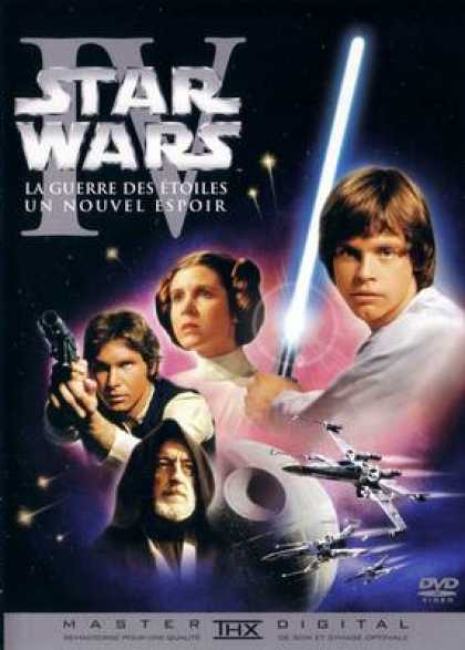 French DVDs - Star Wars Episode IV A New Hope