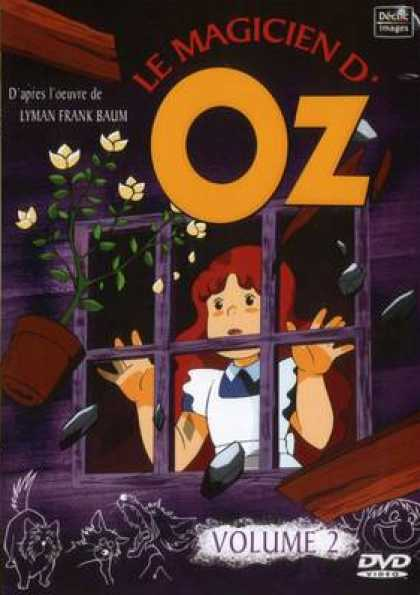 French DVDs - The Wizard Of Oz Cartoon Volume 2