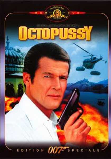 French DVDs - Octopussy