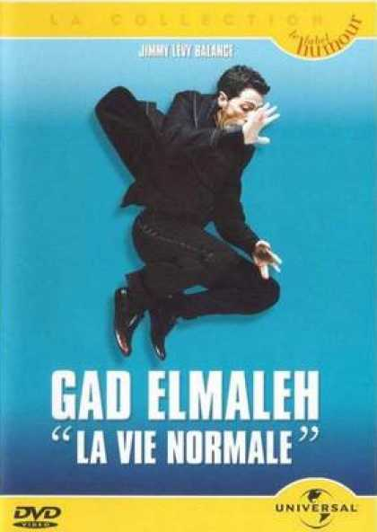 French DVDs - Gad Elmaleh Live A Normal Life