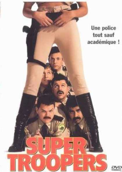 French DVDs - Super Troopers