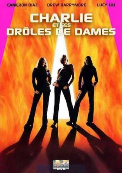 French DVDs - Charlies Angels