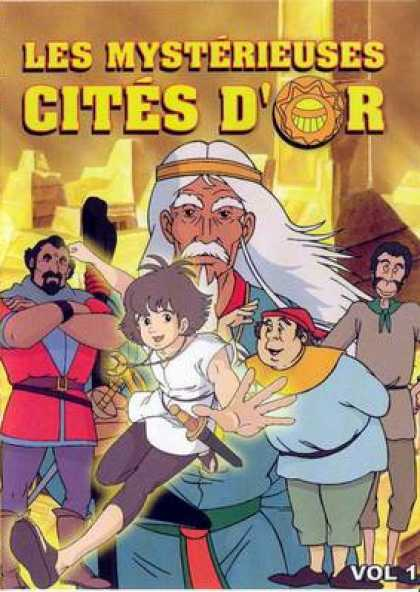 French DVDs - The Cities Of Mystery Vol 1