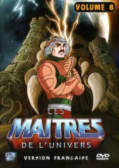 French DVDs - The Masters Of The Universe Vol 8