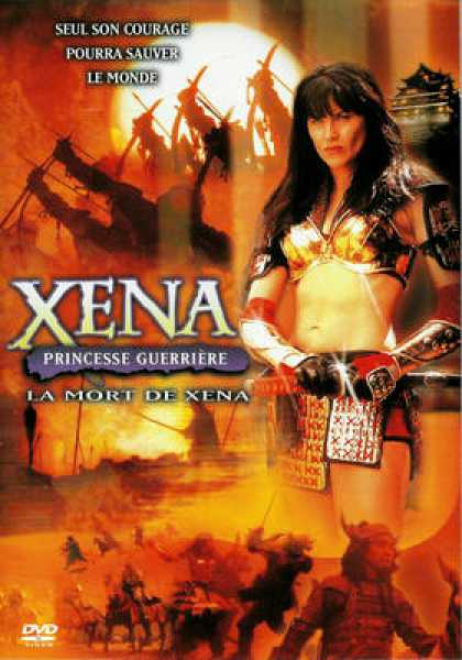 French DVDs - Xena