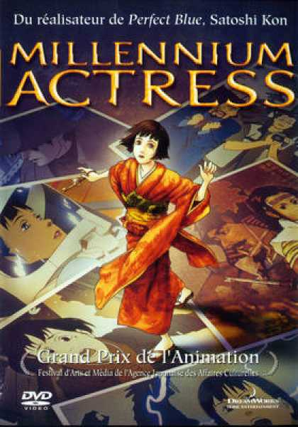 French DVDs - Millennium Actress